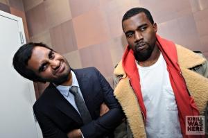 Aziz and Kanye @ Comix